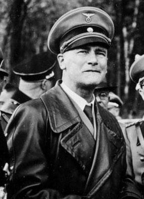 Wilhelm Frick, jurista, político y Ministro de Interior del Tercer Reich (desde 1933 hasta 1943).