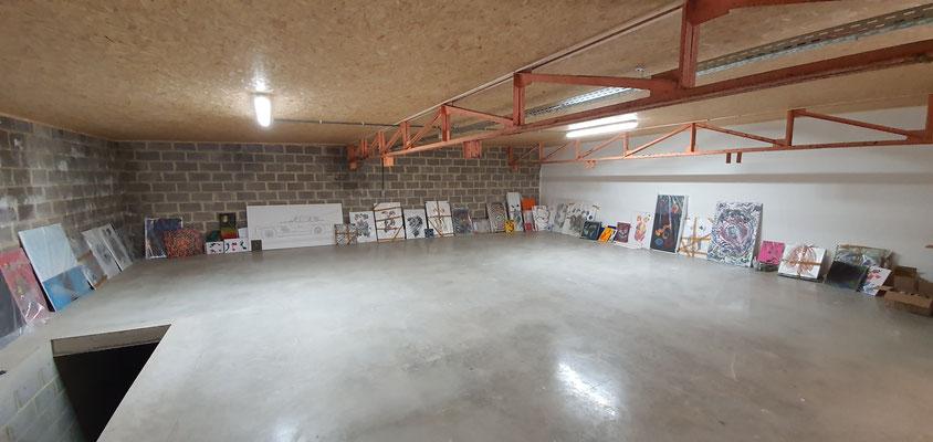 Neues Atelier Martin Lingens
