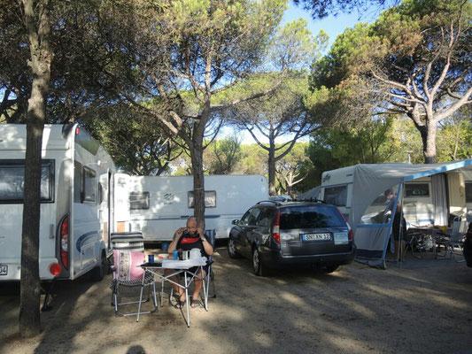 """Frühstück und Abschied vom Camping """"Bella Terra"""" in Blanes"""