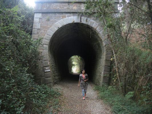 ... NEIN - das ist ein anderer Tunnel...