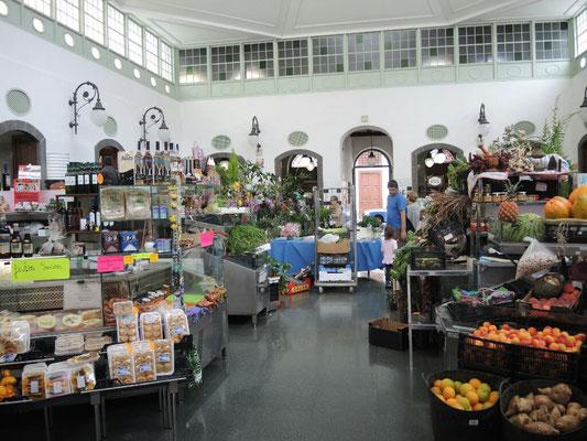 Markthalle in Santa Cruz