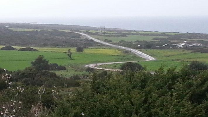 Der Landweg zum Cap Kocumar
