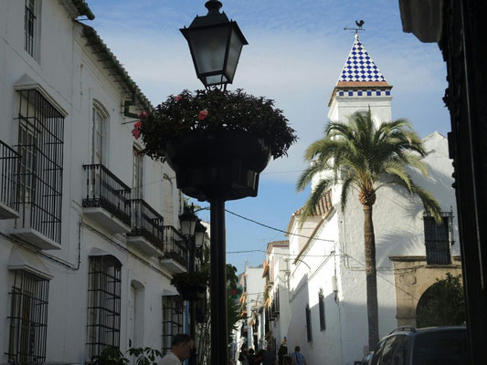 Marbellas Altstadt ist richtig idyllisch