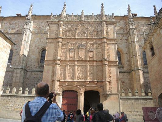 Die Universität von Salamanca, gegründet 1218