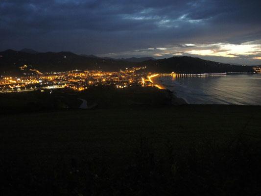 Auch bei Nacht ein Ausblick zum Genießen