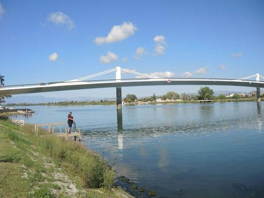 Brücke über den Ebro