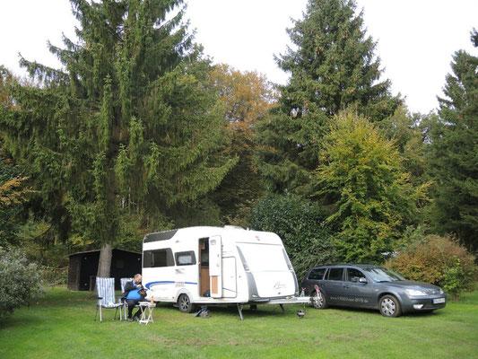 """der Campingplatz """"du Banes von heute Morgen"""
