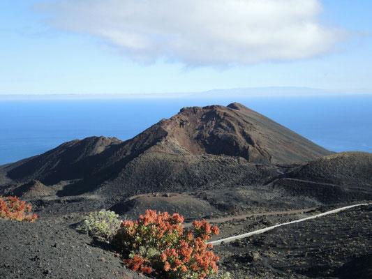 Der Vulkan  Teneguia - es stinkt nach Schwefel, zum Deibel nochmal...