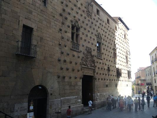 Das Muschelhaus in Salamanca