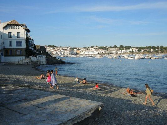 Der Hafen von Cadaques