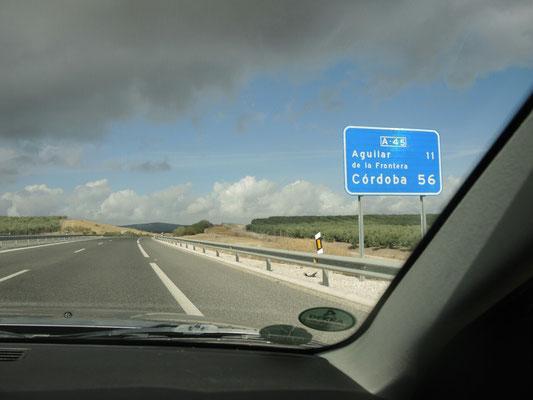 Wiedermal auf der Autobahn