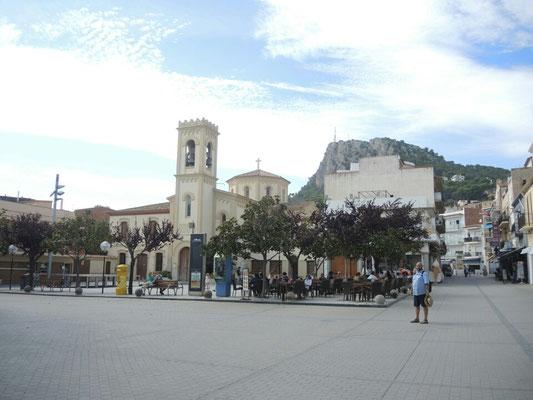 in der Altstadt von L'Escala