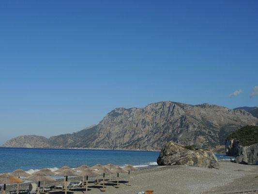 Strand von Khiliadhonisi