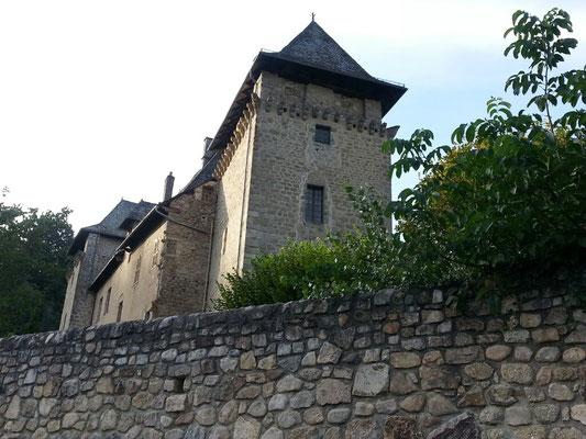 das alte Dorf Entraygues-sur-Truyere