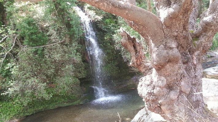 Wasserfall kurz vor Potami