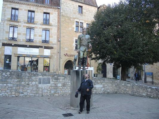 Cyrano von Bergerac und ein Double von Gerad Depardieu