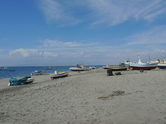 Am Strand von San Miguel de Cabo de Gata