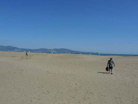 Dünen - Strand bei L'Escala