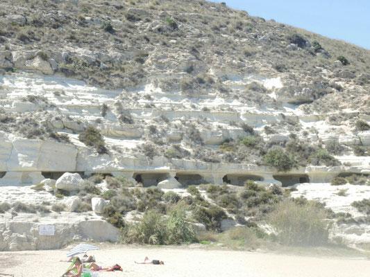 Strand  bei Las Negras