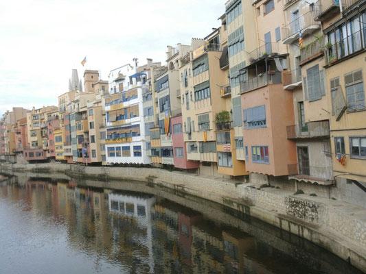 Häuser am Riu Onyar