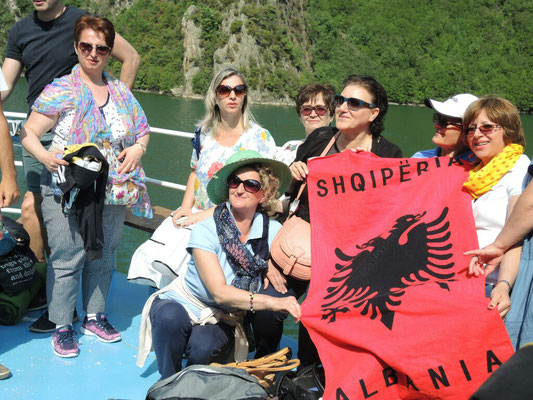 albanische Frauenpower