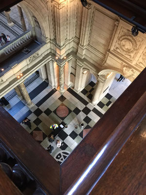 View from upper level Victoria & Albert Museum, London, England Photo credit: Amy Mundinger, 2017