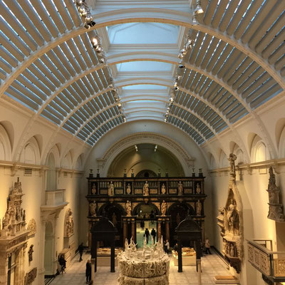 Grand Exhibition Room Victoria & Albert Museum, London, England Photo credit: Amy Mundinger, 2017