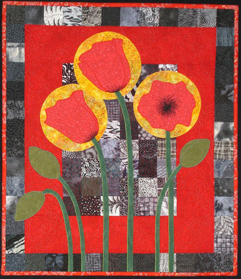 Original Pine Tree Studio design - poppies