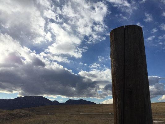 View from Boulder Reservoir, Boulder, Colorado Photo credit: Amy Mundinger