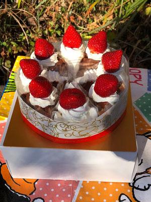 パティシオ高野作美味しいケーキ、ありがとう!