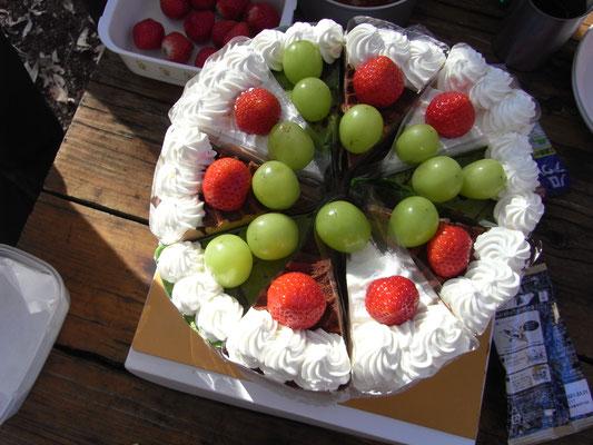 ケーキ全景