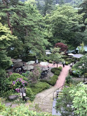 澤乃井ガーデン遠景