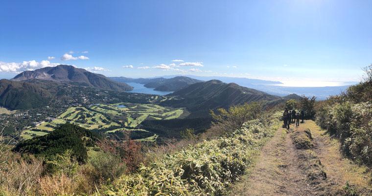 箱根 丸岳からの絶景