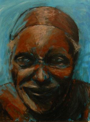 Himba2 / Acryl auf Leinwand 60x80