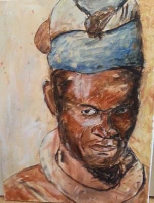 Himba4 , Acryl auf Leinwand , 60x80