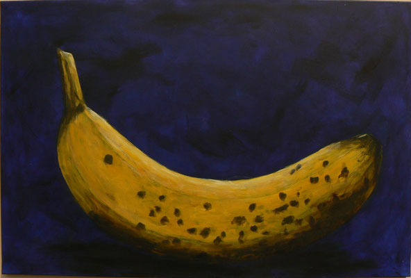 Banane? / Acryl auf Leinwand 120x80