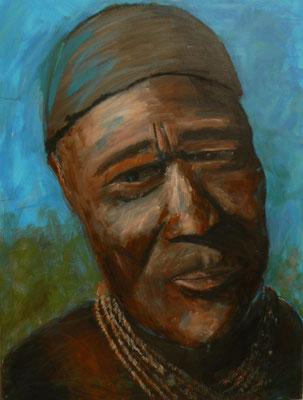 Himba1 / Acryl auf Leinwand 60x80