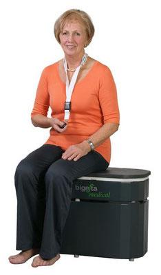 Bild: Bigesta - Schwingungsplattform Vibrationsplattform für Physiopraxen Heilpraxenn