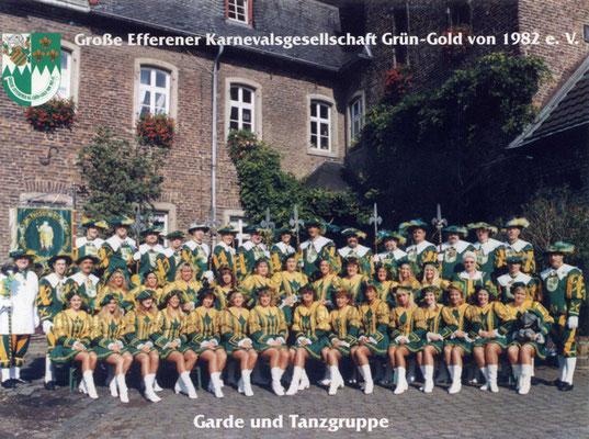 Garde und Tanzgruppe der Großen Efferener KG Grün-Gold von 1982 e.V.