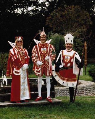 Jungfrau Karola (Karl-Heinz Bong), Prinz Walter I (Walter Königsfeld), Bauer Lothar (Lothar Wagner)