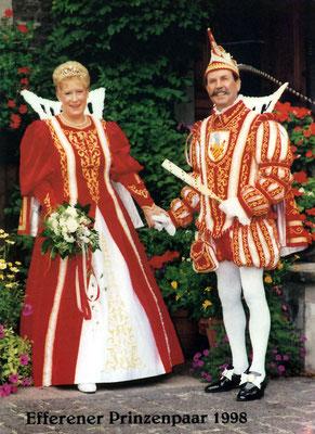 Das Prinzenpaar Ingrid und Helmut I (Sattler)