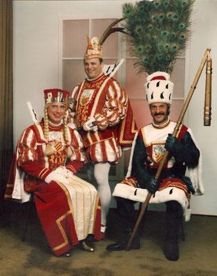 Jungfrau Claudia (Claus Dieter Frank), Prinz Werner I (Werner Schardt), Bauer Otto (Hans Otto Döring)