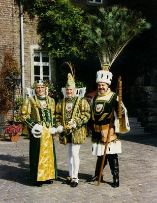 Jungfrau Gundi (Günther Hinz), Prinz Bernd I (Bernd Frechen), Bauer Paul (Paul Krumbein)