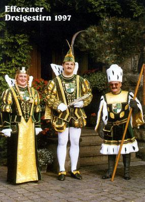 Jungfrau Olivia (Oliver Scheffler), Prinz Armin I (Armin Krieger), Bauer Karl-Heinz (Karl-Heinz Schmitz)