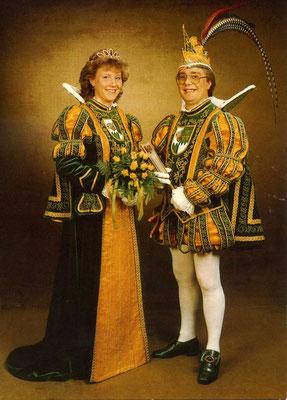 Prinzessin Iris I (Kleefisch) und Prinz Peter V (Hartung)