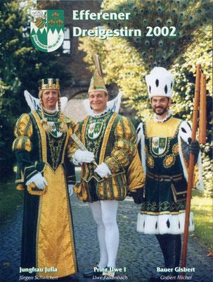 Jungfrau Julia (Jürgen Schwickert), Prinz Uwe I (Falkenbach), Bauer Gisbert (Michel)