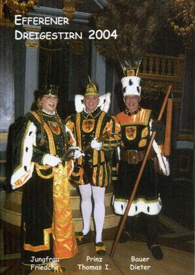 Jungfrau Friedche (Manfred Ziskoven), Prinz Thomas I (Osten), Bauer Dieter (Arenz)