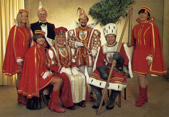 Et Dreigestirn 1981 met singem Schmölzje