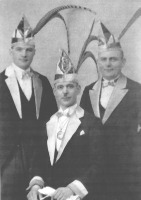 Bauer Peter (Pesch), Prinz Christian I (Esser), Jungfrau (Franz Baer)