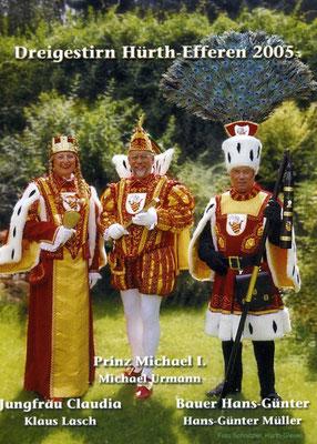Jungfrau Claudia (Klaus Lasch), Prinz Michael I (Urmann), Bauer Hans-Günter (Müller)